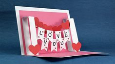 3 Amazing DIY Valentine's Pop-up Cards