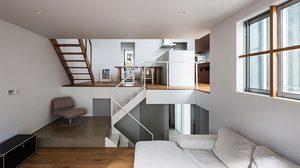 ใช้ตกแต่งภายในแก้ปัญหา ทางออกของ บ้านขนาดเล็ก ด้วยพื้นที่ไล่ระดับสุดคุ้ม!