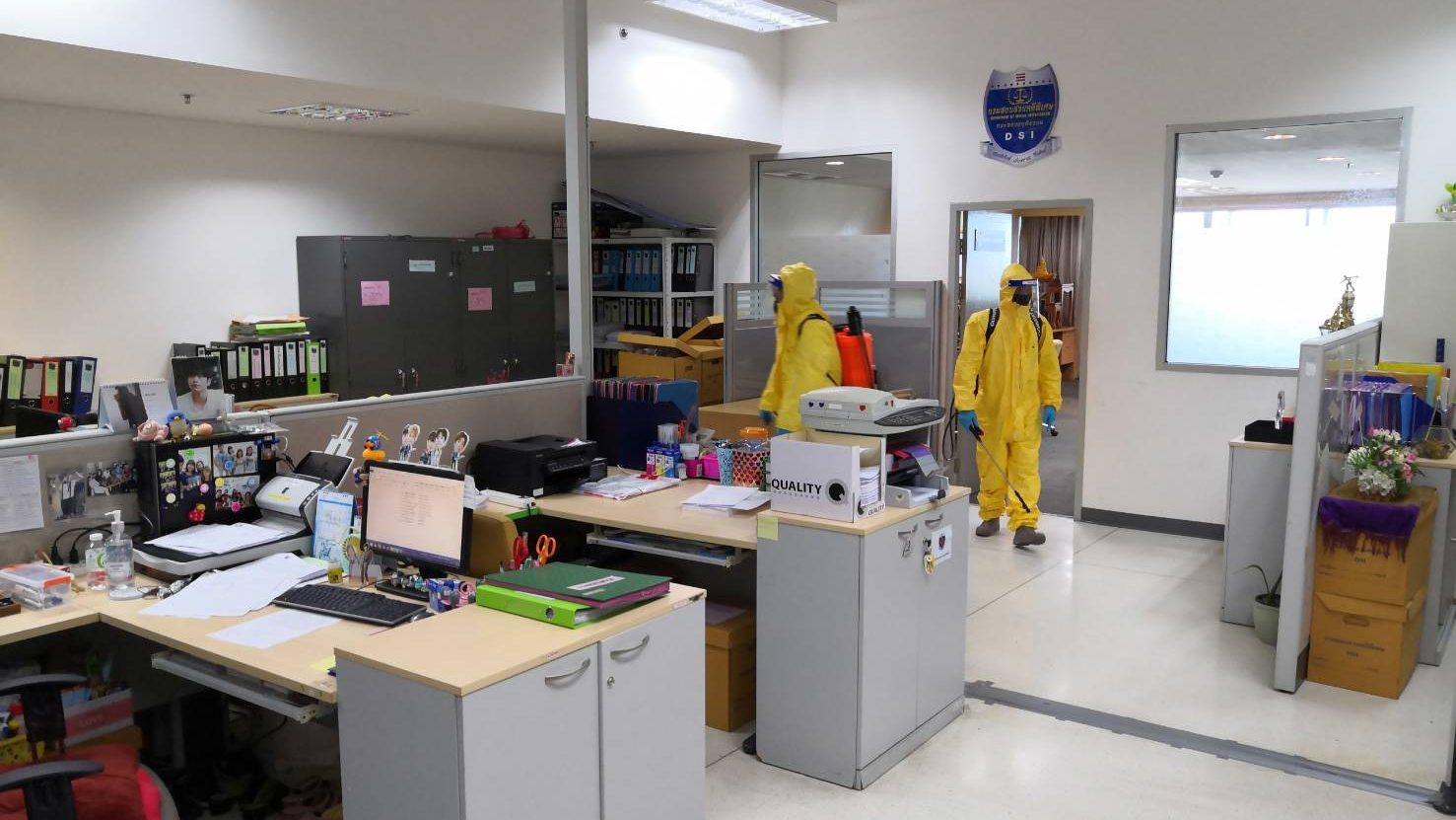 เจ้าหน้าที่ DSI ติดเชื้อโควิด 1 ราย เร่งทำความสะอาดฆ่าเชื้อเต็มรูปแบบ