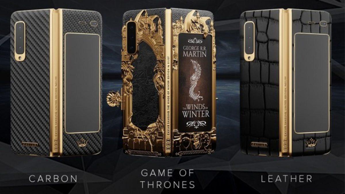 Samsung Galaxy Fold ::: Game of Thrones Edition รุ่นพิเศษสุดหรู ประดับด้วยทองคำ