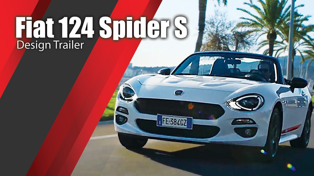 Fiat 124 Spider S Design Trailer