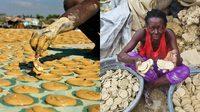 โชคดีที่เกิดเป็นคนไทย คนยากจนในประเทศเฮติ ต้องกิน คุกกี้โคลน ประทังชีวิต