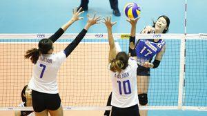 ต้านไม่อยู่! สาวไทย พ่าย ญี่ปุ่น 0-3 เซต ลูกยาง เวิลด์ กรังปรีซ์ ที่เกียวโต