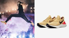 Nike Epic React Flyknit 2 Club Gold อยากเท่แบบพี่ตูนต้องคู่นี้เลย!