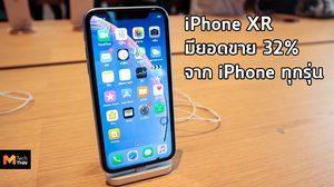 สถิติเผย iPhone XR ขายได้น้อยกว่า iPhone 8 และ 8 Plus ในช่วงเวลาเดียวกัน