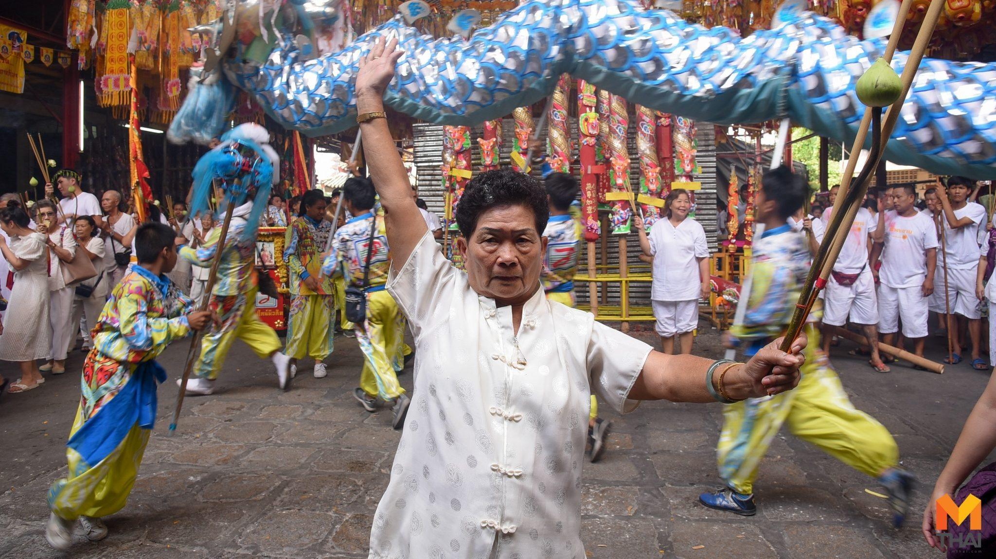 ชาวไทยเชื้อสายจีนร่วมพิธีเชิญเจ้า ก่อนเริ่มเทศกาลกินเจ
