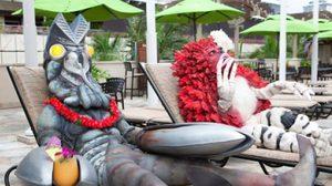 Ultraman ส่งเสริมการท่องเที่ยว Hawaii