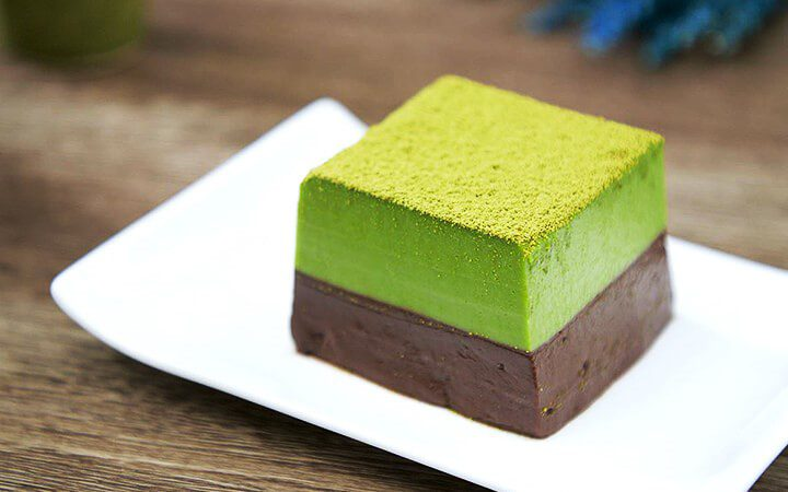 สูตรทําเบเกอรี่ มูสชาเขียวช็อกโกแลต หอมนุ่ม ละมุน น่ารับประทาน