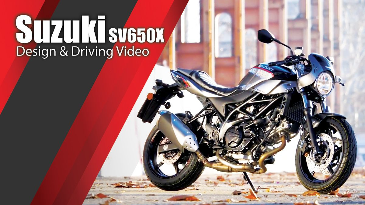 Suzuki SV650X - Design & Driving Video
