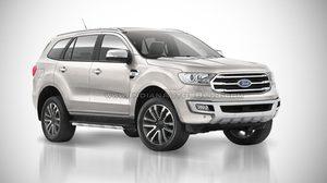 เปิดภาพ Render Ford Everest 2018 พร้อมอัพเดทสีใหม่