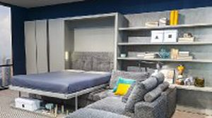 15 ไอเดีย แต่งห้องนอน ประหยัดพื้นที่ด้วย เตียงนอนพับได้