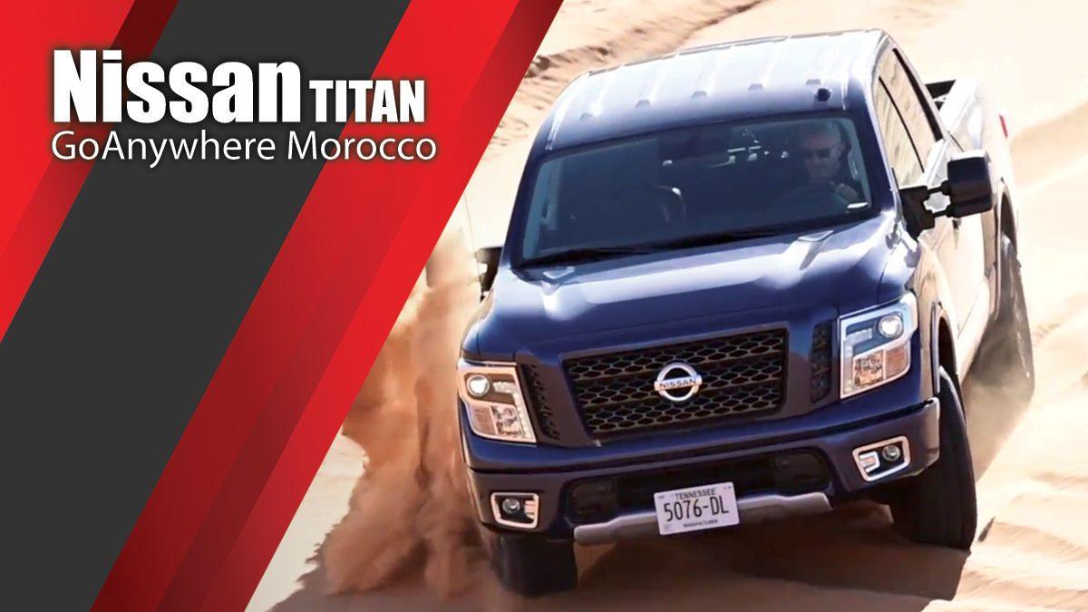 Nissan GoAnywhere Morocco - Nissan TITAN