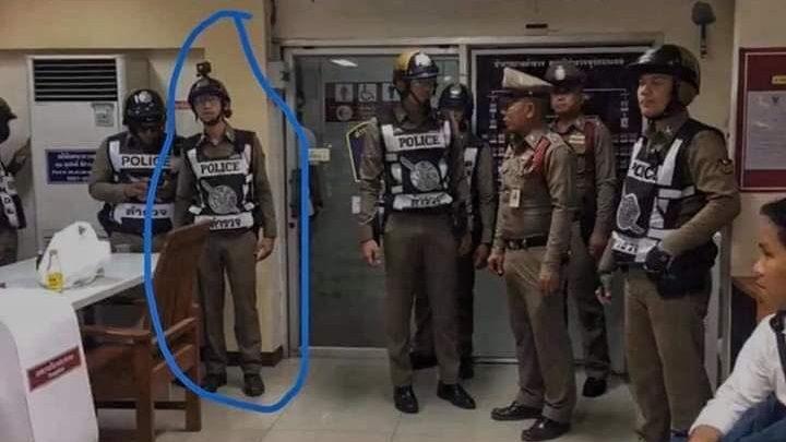 เลิกมโน!! ตำรวจหนุ่มยืนยันไม่ใช่ 'หนุ่มแว่นหัวร้อน'