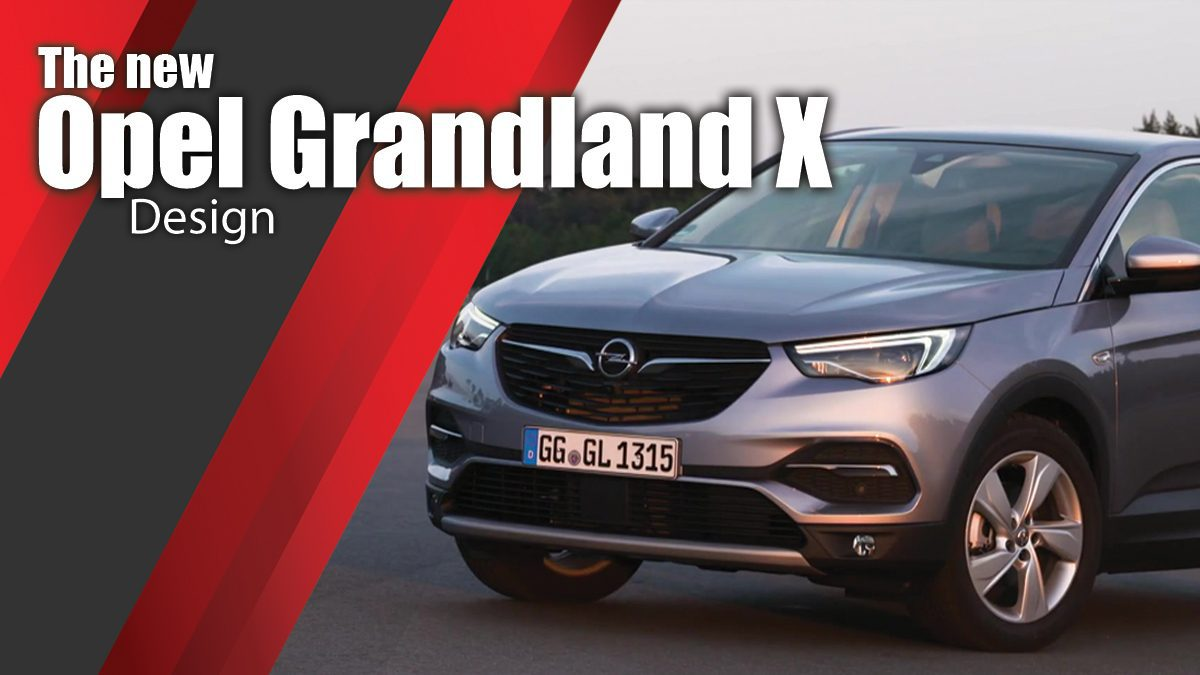 The new Opel Grandland X Design