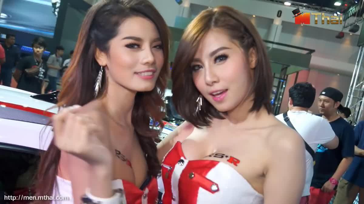 พริตตี้ Bangkok Auto Salon 2015