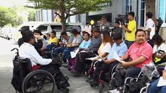 ผู้พิการ กับสิทธิขั้นพื้นฐานขนส่งสาธารณะ