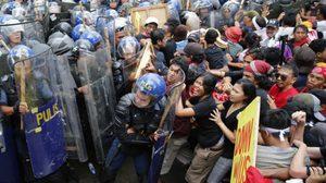 ตร.ฟิลิปปินส์ 1,000 นาย สลายม็อบต้านประชุมสุดยอดผู้นำ 'เอเปก'