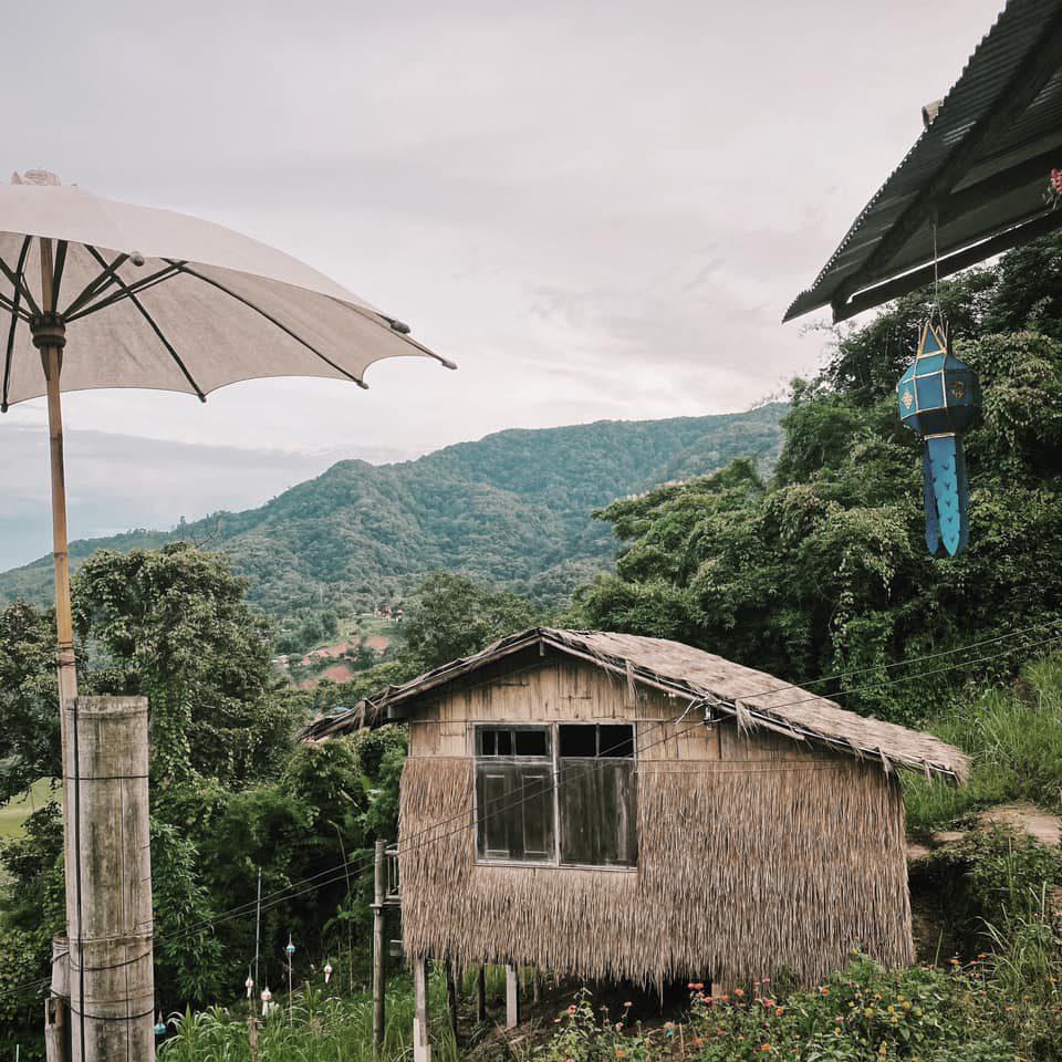 ที่เที่ยวน่าน ที่พัก หมู่บ้านสะปัน วิวหมอกกลางหุบเขา