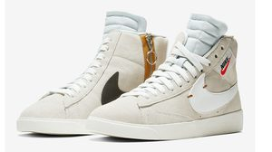 Nike Blazer Mid Rebel สีใหม่ล่าสุด Off White ดูหรูหราไปอีกแบบ