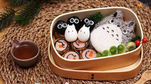 ข้าวปั้นโตโตโร่หมูสาหร่าย จะน่ารักประมาณนี้