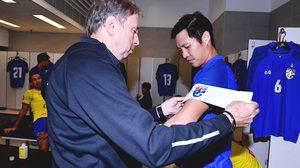 จำไปตลอดชีวิต! เฉลิมพงษ์ รับเป็นเกียรติสวมปลอกแขน ทีมชาติไทย บุกคว่ำฮ่องกง