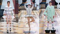 การนำเสนอแฟชั่นสุดแนว จากแบรนด์ Thom Browne ในงาน Paris Fashion Week