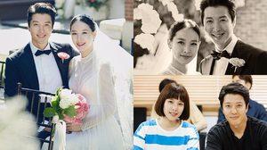 ตัดสินใจยุติชีวิตคู่แล้ว ! ภาพงานแต่งงานอีดงกอน-โจยุนฮี ปี 2017