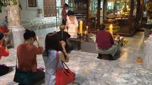 ปชช.ทำบุญวันมาฆบูชา – รองผู้ว่าฯกทม.นำตักบาตรพระ 99 รูป