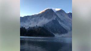 เปิดคลิปนาทีนักท่องเที่ยวไทยหนีตาย แผ่นดินไหวภูเขาไฟรินจานี อินโดนีเซีย