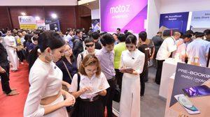 กระแสตอบรับแรง! แห่จอง Moto Z กับ Moto Z Play ในงาน Thailand Mobile Expo 2016