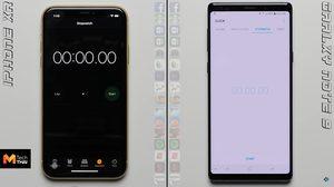 วัดกัน ชัดๆ iPhone XR และ Galaxy Note9 รุ่นไหนเปิดแอพพลิเคชั่นซ้อนได้เร็วกว่ากัน