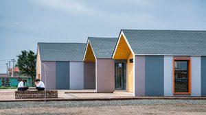 เร็วทันใจสร้าง บ้านสำเร็จรูป เป็นหอสมุดโรงเรียนเสร็จภายใน 7 วัน