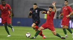 """ผลบอล : โปรตุเกส vs โครเอเชีย !! ฝอยทอง ขาด""""โด้""""ปาดเหงื่อไล่เจ๊า โครแอต 1-1"""