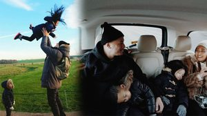 รวมภาพน่ารัก เวย์-นานา พาลูกเที่ยวไกลถึงลอนดอน อบอุ่นสุดๆ