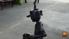 บ้านหุ่นเหล็กสร้างหุ่นรูป 'ตูน บอดี้สแลม' เตรียมประมูลนำเงินสมทบก้าวคนละก้าว