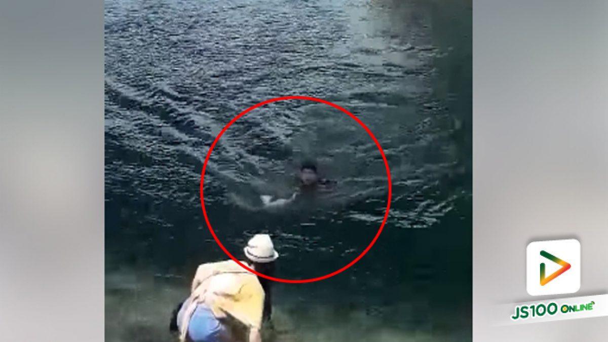 คลิปหนุุ่มใจดี ลงไปช่วยแมวตกน้ำ บริเวณสะพานสารสิน จ.ภูเก็ต (06-08-61)