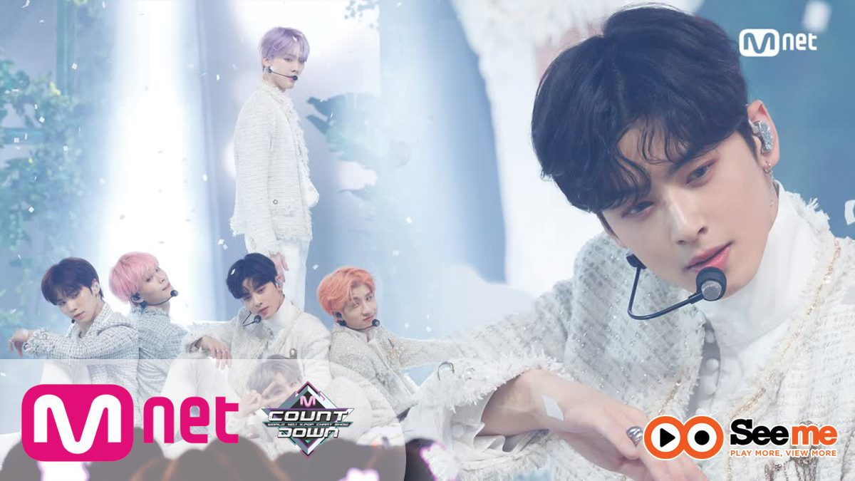[ASTRO - All Night] Comeback Stage | M COUNTDOWN 190117 EP.602