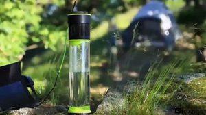นักปั่นได้กรี๊ด! กระบอกน้ำอัจฉริยะ เติมน้ำได้เอง จากความชื้นในอากาศ