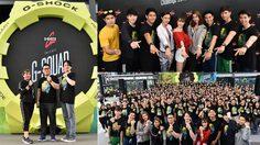G-SHOCK เปิดสนามท้าประลองความแข็งแกร่ง G-SHOCK G-SQUAD CHALLENGE 2018 สายเฮลตี้แห่ร่วมงานนับพัน!!