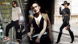 เจนี่ กับสไตล์การแต่งตัวสุดชิค ร่วมชมแฟชั่นโชว์แบรนด์ดังระดับโลก Givenchy