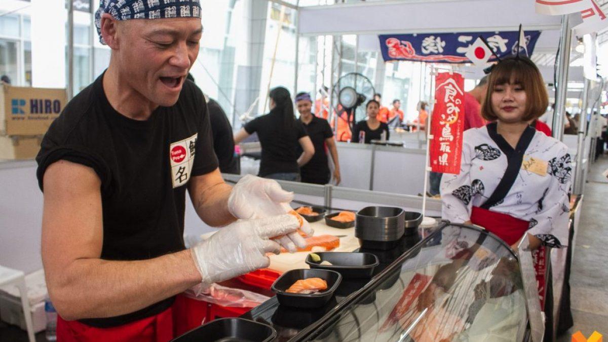 งานมหกรรมญี่ปุ่นที่ยิ่งใหญ่กับโซนอาหารใน Japan Expo Thailand 2018