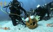 แข่งแกะสลักฟักทองใต้น้ำ