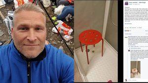 นั่งอีท่าไหนเนี่ย หนุ่มนอร์เวย์ อัณฑะติดรูเก้าอี้ ระหว่างนั่งอาบน้ำ