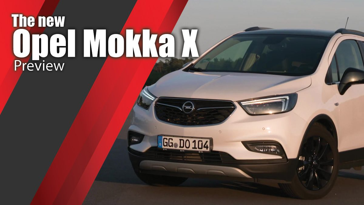 The new Opel Mokka X Preview