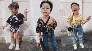 โคตรแนว น้องฟรั้งซ์ จัดเต็มทุกชุด หล่อเท่มีสไตล์แต่เด็ก