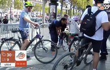 บรรยากาศงาน Car-less Day ในกรุงปารีส