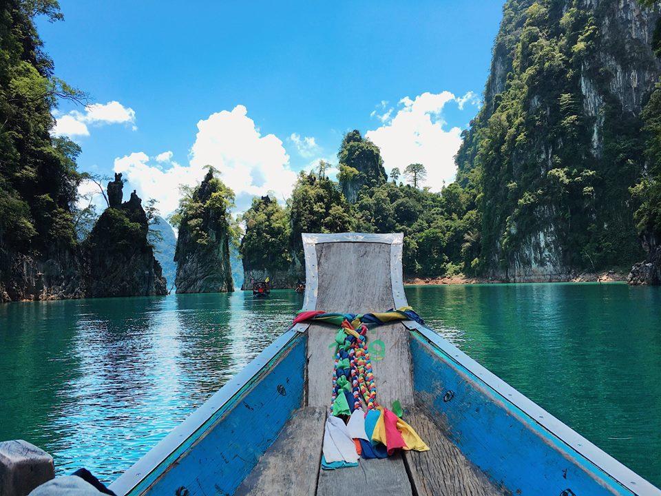 รีวิว เที่ยวเขื่อนเชี่ยวหลาน กุ้ยหลินเมืองไทย สวยเหมือนสวรรค์บนดิน