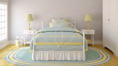 แต่งห้องนอนให้สวยด้วย ผ้าปูที่นอน หลากสี