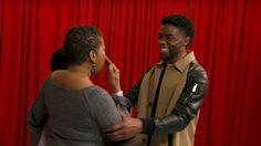 จิมมี ฟัลลอน เอาใจแฟนหนัง Black Panther พา แชดวิก โบสแมน มาเซอร์ไพรส์ถึงที่