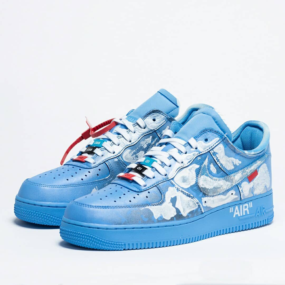 Virgil Abloh x MCA Chicago x Cassius Hirst x Nike Air Force 1